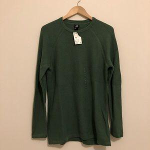 NWT Textured Green H&M Men's Sweater